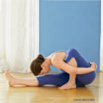 Marichyasana A (pron. marry-ches-se-na) - and that's not me!