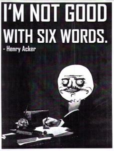 6words